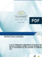Marketing Channel Presentation - Unitedworld School of Business
