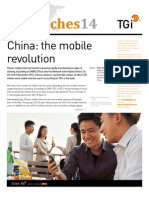 Global TGI Report, China the Mobile Revolution