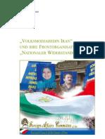 """""""VOLKSMODJAHEDIN IRAN"""" UND IHRE FRONTORGANISATION """"NATIONALER WIDERSTANDSRAT IRAN"""""""