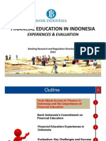 Financial Education in Indonesia