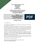 Programme SILF (2ème circulaire)