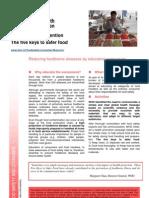 Food Borne Diseases Flyer_5_keys