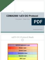 Protocol Evdo