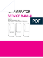 LG Refrigerator Bottom Freezer LRBC22522 Service Manual