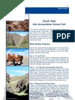 South Gobi