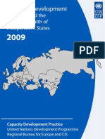 Capacity development in Europe and the Commonwealth of Independent States 2009