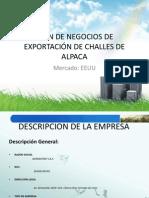 PLAN DE NEGOCIOS DE EXPORTACIÓN DE CHALLES (1) (1)