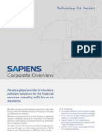 A Sapiens Brochure Coprporate