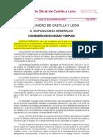 BBRR y Convocatoria  EYE_952_2012 y corrección