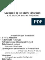 E8 - Gazdasági és társadalmi változások