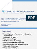 Togaf Un Cadre d Architecture