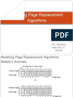 Modeling Page Replacement Algorithms