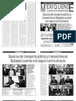 Versión impresa del periódico El mexiquense  4 julio 2013