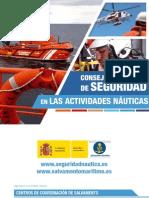 Consejos Practicos de Seguridad en Las Actividades Nauticas