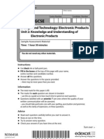 GCSE Design and Technology_ Electronic Products