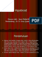 Hipotiroid