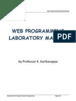 Web Programming Manual