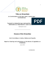 Report on Review of Legislation on Prostitution