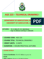 Technical Drawing I