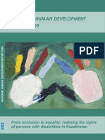 Kazakhstan national Human Development Report 2009
