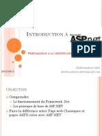 Introduction à ASP.NET