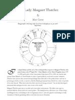 astrology Lady Margaret Thatcher