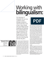 Working with bilingualism
