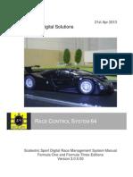 RCS64 manual (3.0.0.50) 21st Apr 2013