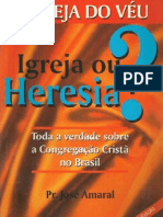 Igreja do Veu - Igeja ou Heresia - José Marques do Amaral