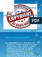Copyright and Piracy From Moral