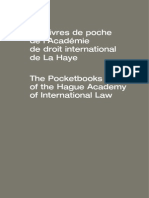 Catalogue the HAgue Academy of International Law