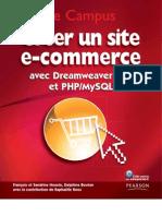 Creer Un Site Ecommerce Avec DreemwaverCS4 Et PHP-MySQL
