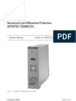 Siemens Pilot Wire Current Differential Relay