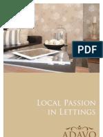 Adavo Lettings Brochure
