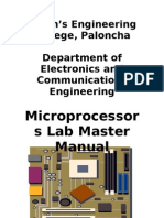 Microprocessors Cover Page