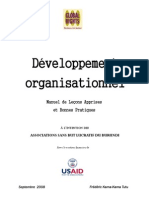 Organizational Development Manual FR