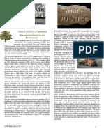 OUE Newsletter Spring 2013