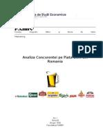 Analiza Concurentei Pe Piata Berii Din Romania
