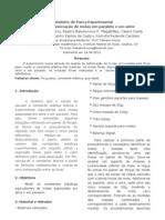 Relatorio Forca Elastica Serie Paralelo