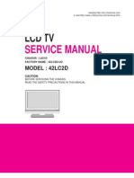 Lg 42lc2d Lcd Tv Service Manual