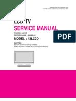 Lg 42lc2d Lcd Tv Service Manual