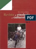 Revista de Etnologie Si Culturologie Vol. VI