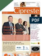 Cipreste 29, Mai 2013