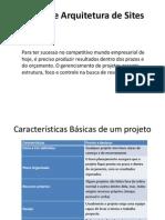 Projeto e Arquitetura de Sites