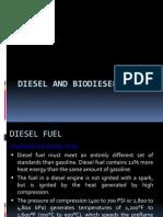 Diesel and Bio-diesel Fuels