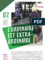 Le BO Numéro 2, journal du Bel Ordinaire, espace d'art contemporain Pau-Pyrénées