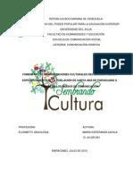 Proyecto definitivo. Manifestaciones culturales de santa ana de paraguaná