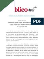 Navarro, vicenc - Por que los salarios son tan bajos en España