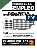 Boletin Dia Del Desempleo 2012