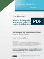 Varesi 2013 Modelo de acumulación y hegemonía en la Argentina post-convertibilidad, 2002-2008